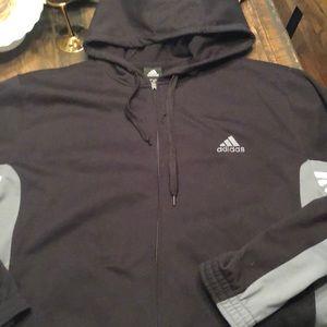 Adidas zip sweater jacket XXL Like New CONDITION🔥